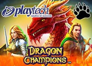 new dragon champions slot playtech casinos
