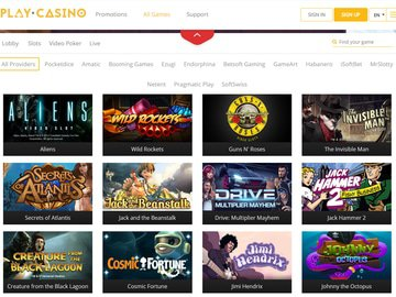 Play.casino Software Preview