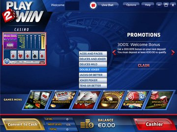 Play2Win Casino Software Preview