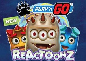 new reactoonz slot playngo casinos