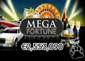 Player wins €2,553,090 Mega Fortune Mega Jackpot