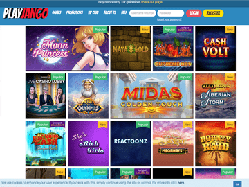 PlayJango Casino Software Preview