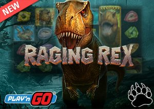 Play'n Go Casino Debut New Raging Rex Slot