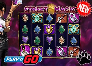 Play'n Go New Street Magic Slot