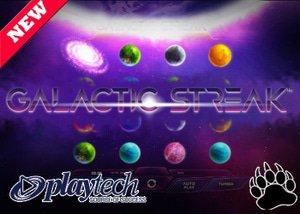 Playtech Casinos New Galactic Streak Slot