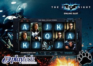 Playtech Casinos The Dark Knight Slot