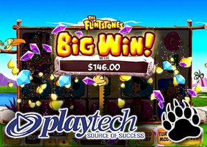 Playtech Launching Cartoon Classic The Flintstones Slots in Canada