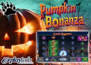 Playtech New Pumpkin Bonanza Slot
