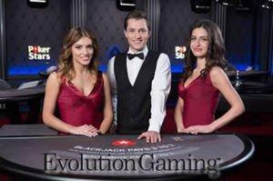 Evolution/PokerStars Live Casino