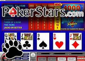 poker stars casino video poker
