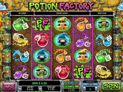 Play Potion Factory Slot Machine Free with No Download