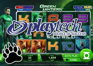 Playtech's Green Lantern Slot