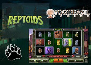 new reptoids slot yggdrasil casinos
