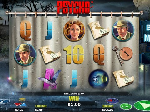 Psycho Slot Game Preview