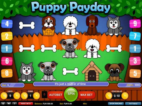 Puppy Payday Game Preview