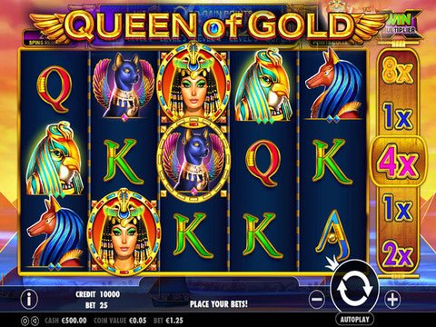 Queen of Gold Game Preview