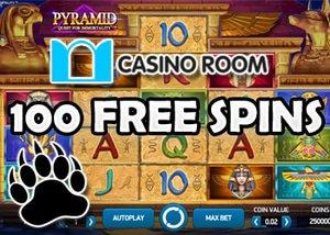 100 free spins bonus - casino room