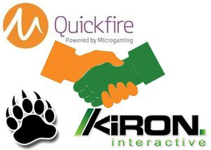 Kiron Interactive is the latest developer to be signed up as a partner with Microgaming's Quickfire