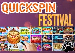 Quickspin Casinos Festival Promotion