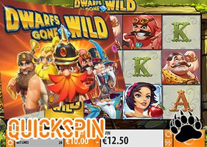 Quickspin New Dwarfs Gone Wild Slot