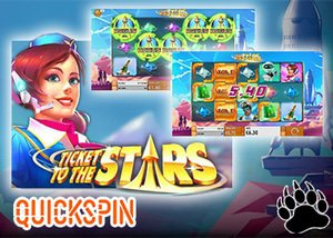 Quickspin New Ticket to the Stars Slot