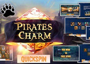 Quickspin Casinos New Pirates Charm Slot