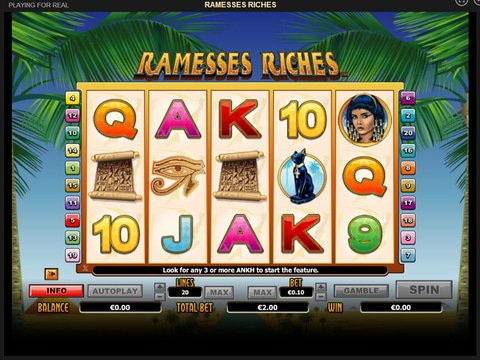 Ramesses Riches Game Preview