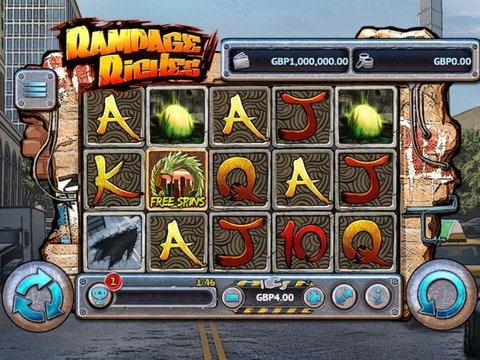 Rampage Riches Game Preview