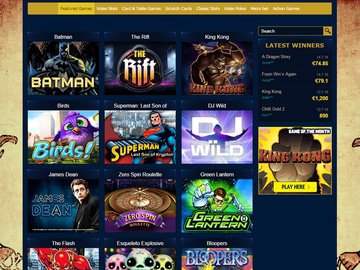 Ramses Gold Casino Software Preview
