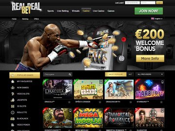 Real Deal Bet Homepage Preview