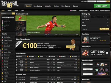 Real Deal Bet Software Preview