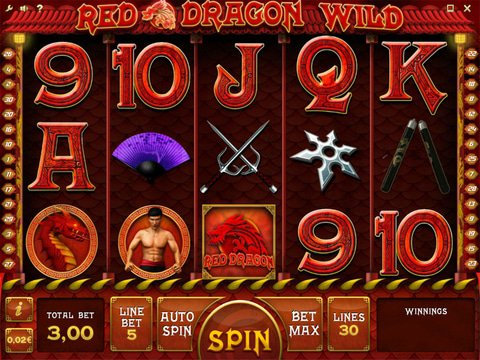 Red Dragon Wild Game Preview