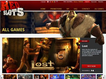 Red Slots Casino Software Preview