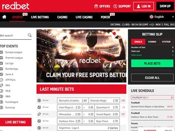 redbet Software Preview