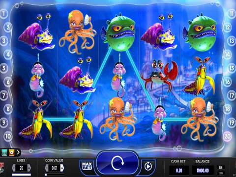 Enjoy the Reef Run No Download Slots with a Cute Theme