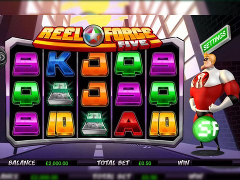 Reel Force 5 Game Preview