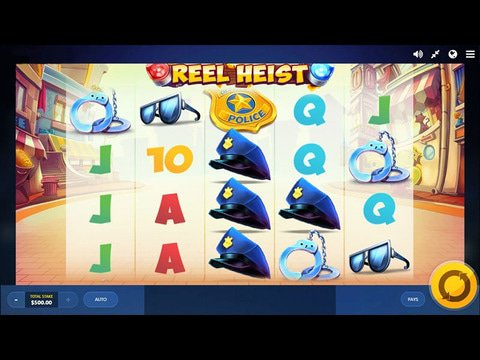 Reel Heist Game Preview