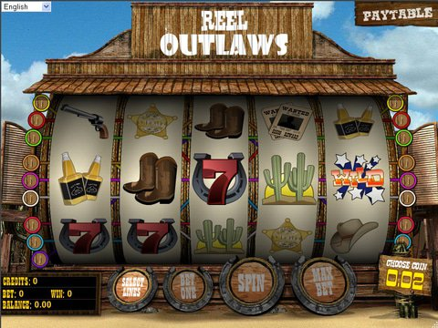 Reel Outlaws Game Preview