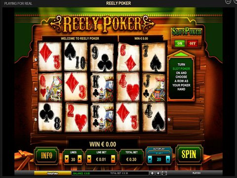 Reely Poker Game Preview