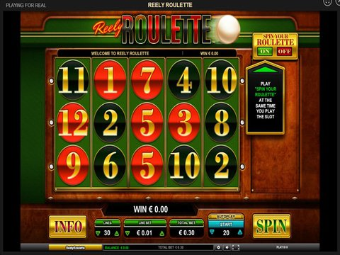 Reely Roulette Game Preview