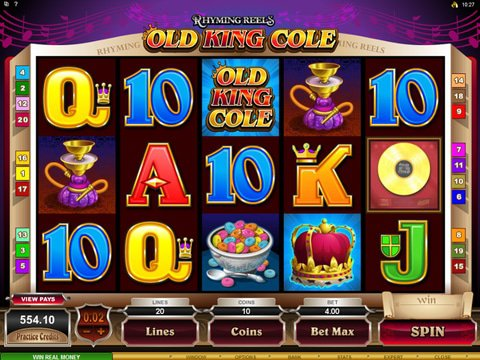 Rhyming Reels - Old King Cole Game Preview