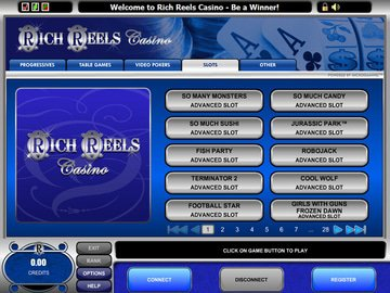 Rich Reels Casino Software Preview