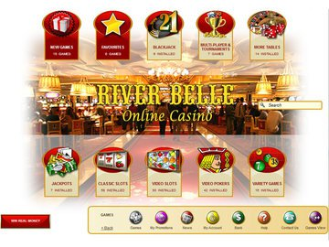 Riverbelle Casino Software Preview