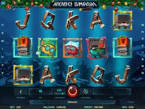 Robo Smash Christmas Edition Game Preview