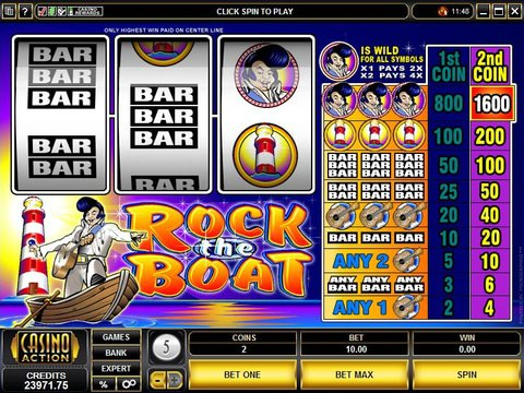 Rock The Boat Game Preview