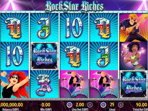 Play Rockstar Riches on This Page for Free
