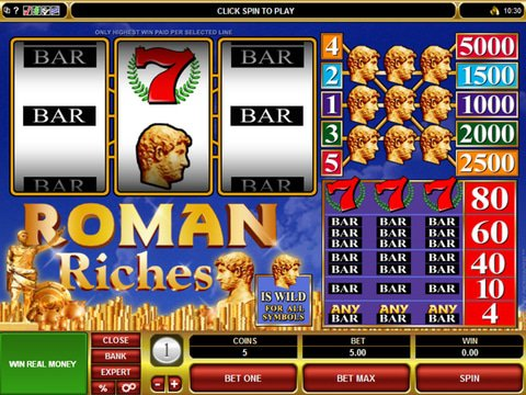 Roman Riches Game Preview