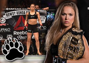 Bettors at Sports Interaction win big on Rousey upset.