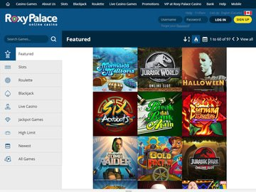 Roxy Palace Casino Software Preview