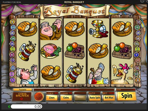Try Royal Banquet Slots With No Download